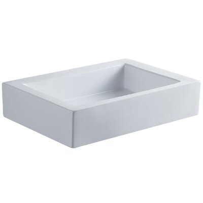 Pacifica China Vessel Bathroom Sink - EV4335