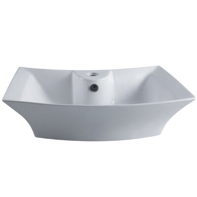 Courtyard China Vessel Bathroom Sink - EV4337