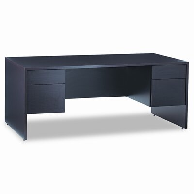"Global Total Office Genoa Series 72"" Double Pedestal Executive Desk"