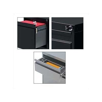 "Global Total Office G Series 19"" D Box/Box/File Pedestal"