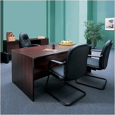 "Global Total Office Genoa 72"" Standard Executive Desk Office Suite"