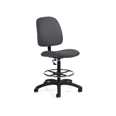 Global Total Office Goal Armless Drafting Pneumatic Task Chair