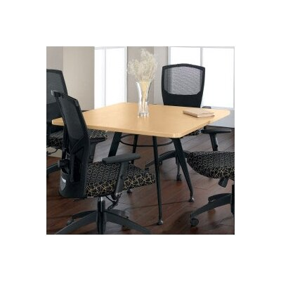 Global Total Office Square Top Laminate Meeting Table