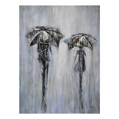 Ren-Wil Stormy Day Canvas Wall Art