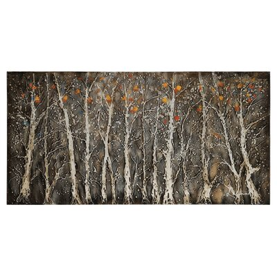 Rugged Forest by Dominic Lecavalier Painting Print on Canvas