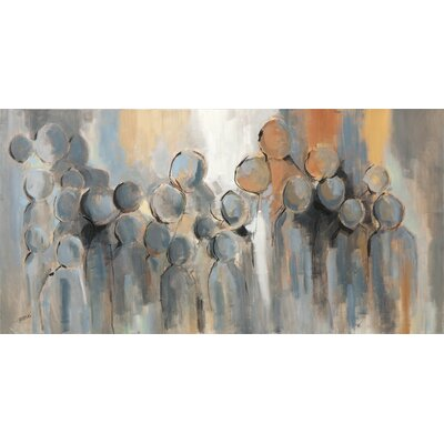 Gathering by Braski Painting Print on Canvas