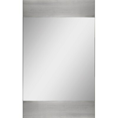 Ren-Wil Small Rectangular Mirror with Aluminum Edges