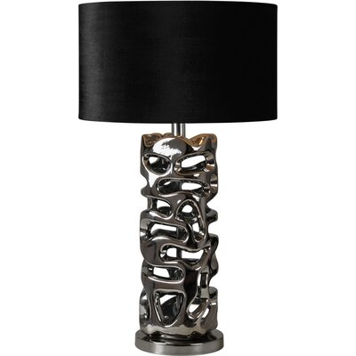 "Ren-Wil Molded 28"" H Table Lamp with Drum Shade"