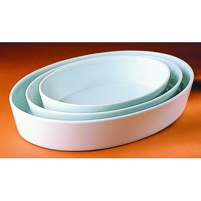 Pillivuyt Large 80 oz. Deep Oval Baker