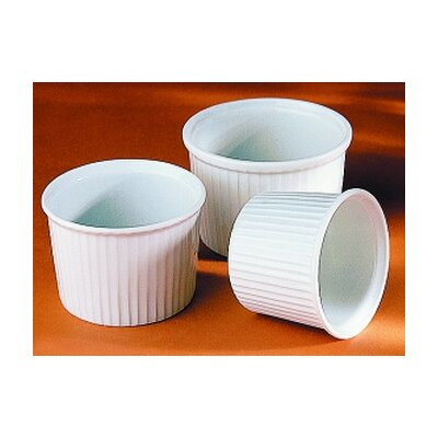 Pillivuyt 4 oz. Deep Pleated Ramekin