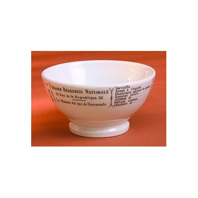 Pillivuyt Brasserie 13 oz. Café Au Lait Serving Bowl