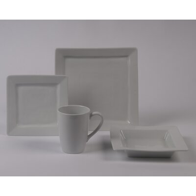 Pillivuyt Quartet Rimless Bowl 4 Piece Dinnerware Collection