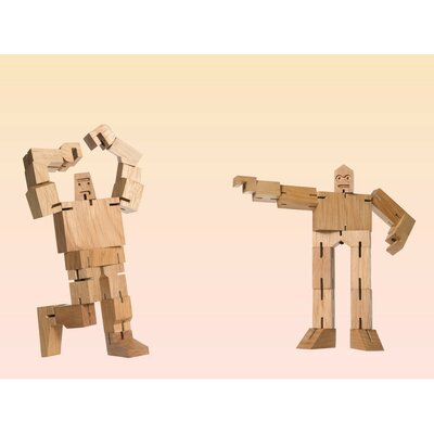 Areaware 40 Piece Micro Julien and Guthrie Cubebot Set