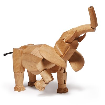 Areaware David Weeks Hattie the Elephant Figurine