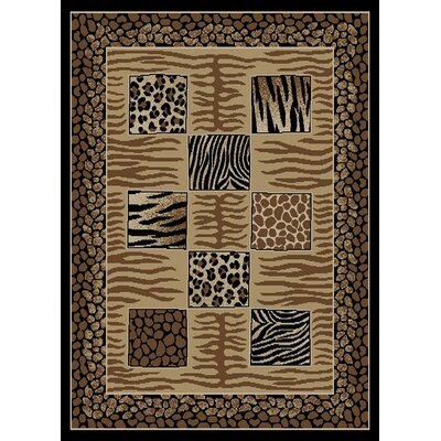 Royal Animal Patchwork Rug