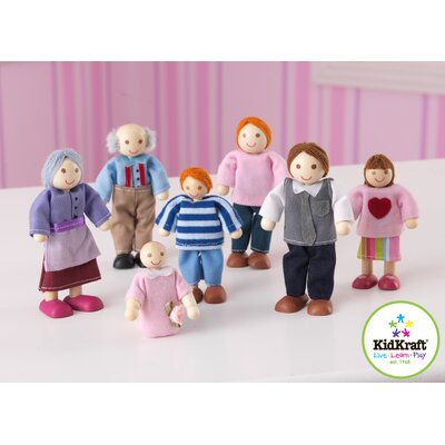 PlayKraft by KidKraft Caucasian Doll Family