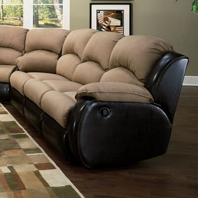 Recline Designs Jupiter Dual Reclining Sectional