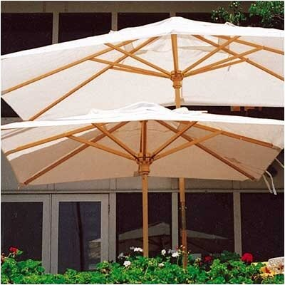 Dayva International 10' Huntington Rectangular Market Umbrella