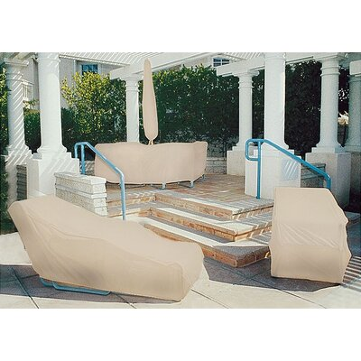 Dayva International Tron-weve Large Wicker Loveseat Cover