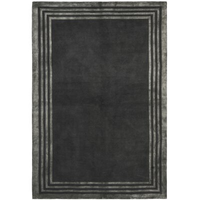 Ralph Lauren Home Ellington Border Platinum Rug