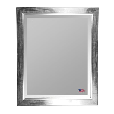 Rayne Mirrors Jovie Jane Black Smoke with Silver Liner Wall Mirror