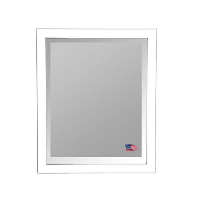 Rayne Mirrors Jovie Jane Glossy White Wall Mirror