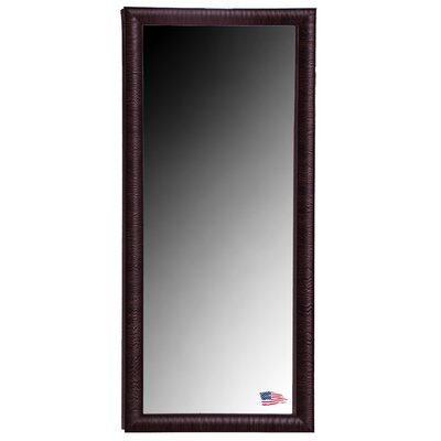 Jovie Jane Maple and Brown Ribbed Tall Mirror