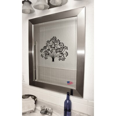 Rayne Mirrors Jovie Jane Silver Wide Wall Mirror