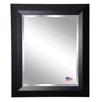 Rayne Mirrors Jovie Jane Solid Black Angle Wall Mirror