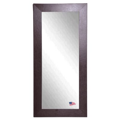 Rayne Mirrors Jovie Jane Wide Brown Leather Tall Mirror