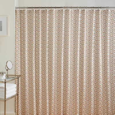 Jill Key's Cotton Printed Shower Curtain