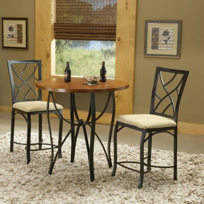 Bernards Sanford Pub Table with Optional Stools