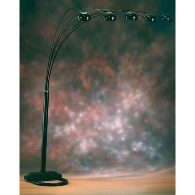 Bernards Spider Lamp 3 Way Switch Floor Lamp