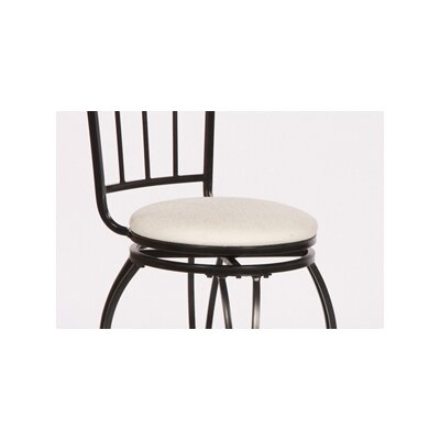 TMS Gabriella Pub Bar Stool with Cushion