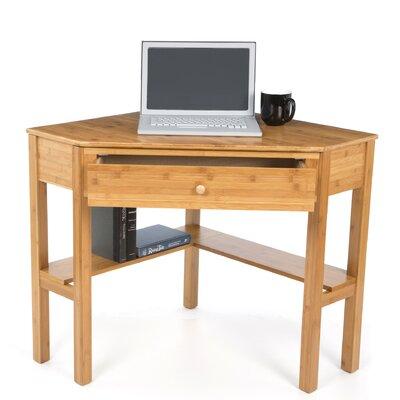 TMS Bamboo Corner Desk