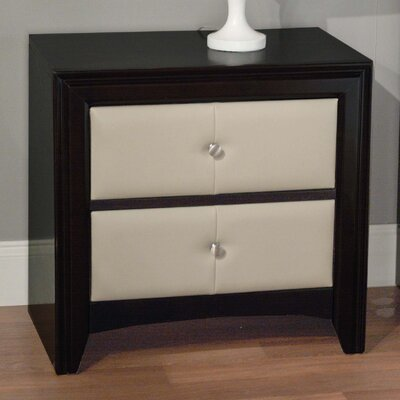 TMS 2 Drawer Nightstand