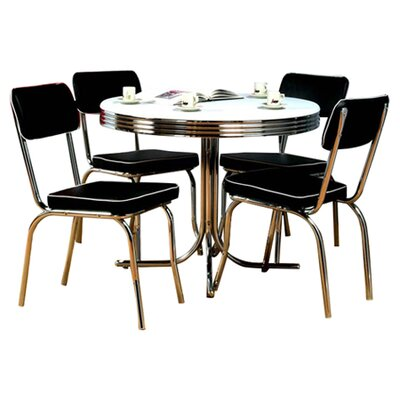 TMS Retro 5 Piece Dining Set