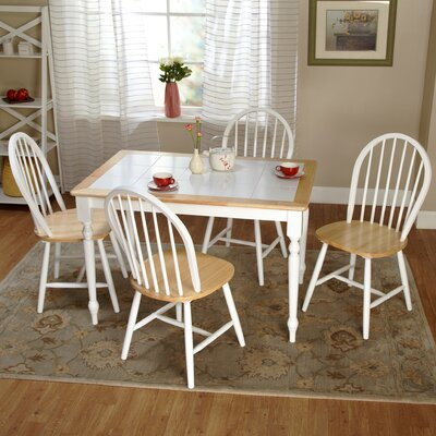 TMS Tara 5 Piece Dining Set