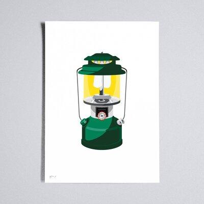 Workbench Lantern Graphic Art