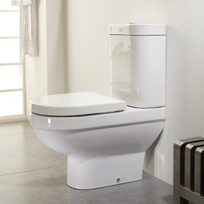 Elena Close Coupled Toilet With Soft Close Seat Wayfair Uk