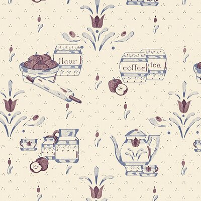 Tea Time Self Adhesive Shelf Liner