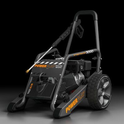 Powerplay Streetfighter 3000, 2.5GPM Quick Disconnect Power Pressure Washer