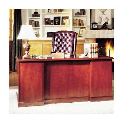 High Point Furniture Legacy L-Shaped Executive Workstation
