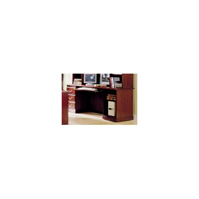 High Point Furniture Legacy Single Pedestal Veneer Credenza