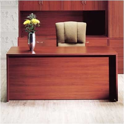 "High Point Furniture Hyperwork 72"" W Double Pedestal Office Credenza with Drawers"