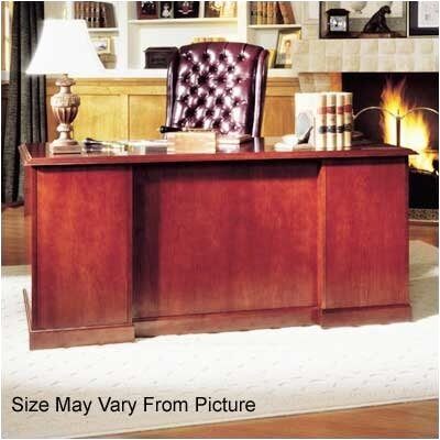 "High Point Furniture Legacy 66"" Single Pedestal Executive Desk"