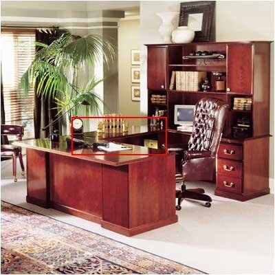 High Point Furniture Legacy 30&quot; H x 46&quot; W Desk Bridge