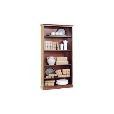 "High Point Furniture Legacy 76"" H Veneer Bookcase"