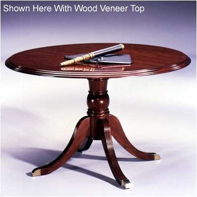 "High Point Furniture Legacy Traditional 48"" Round 4-Footed Pedestal Table"