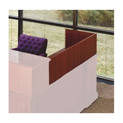 "High Point Furniture Bedford 13"" H x 48"" W Desk Reception Screen"